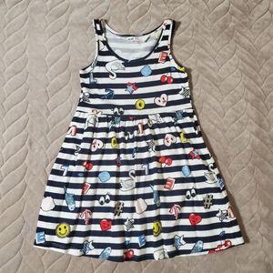 NEW/Unused H&M Nautical Stripe Fun Dress
